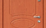 Дверь с плёнкой ПВХ